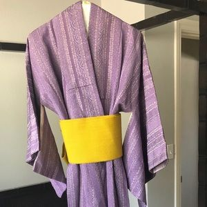 Other - Authentic Japanese Kimono linen with lining